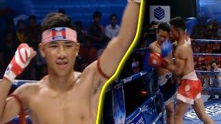 វ៉ាន់ថងល្អណាស់! Chhut Sereyvanthong Vs (Thai) Phet Maha, 02/December/2018, CNC Boxing