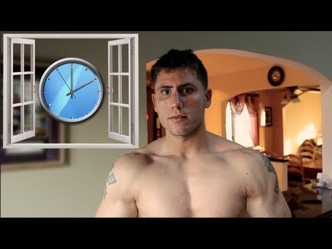 Post Workout Nutrition Window & Timing