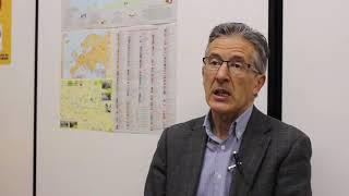 Jose Antonio del Barrio, presidente de la Federación Española de Esperanto