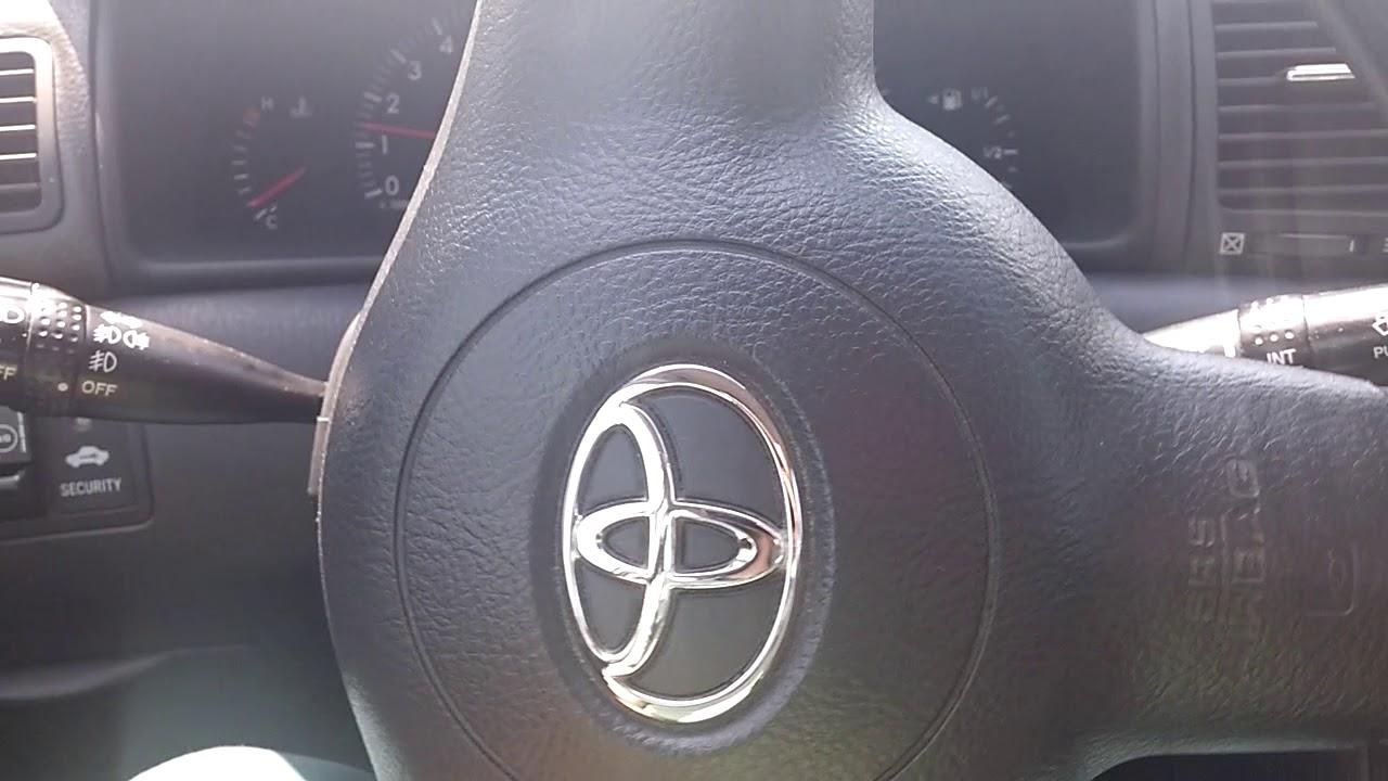 Toyota Corolla Direksiyon Ses Giderme