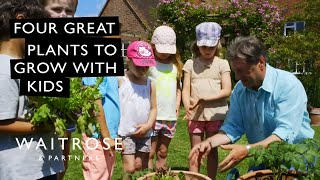 Alan Titchmarsh's Summer Garden | Four Great Plants to Grow With Kids | Waitrose