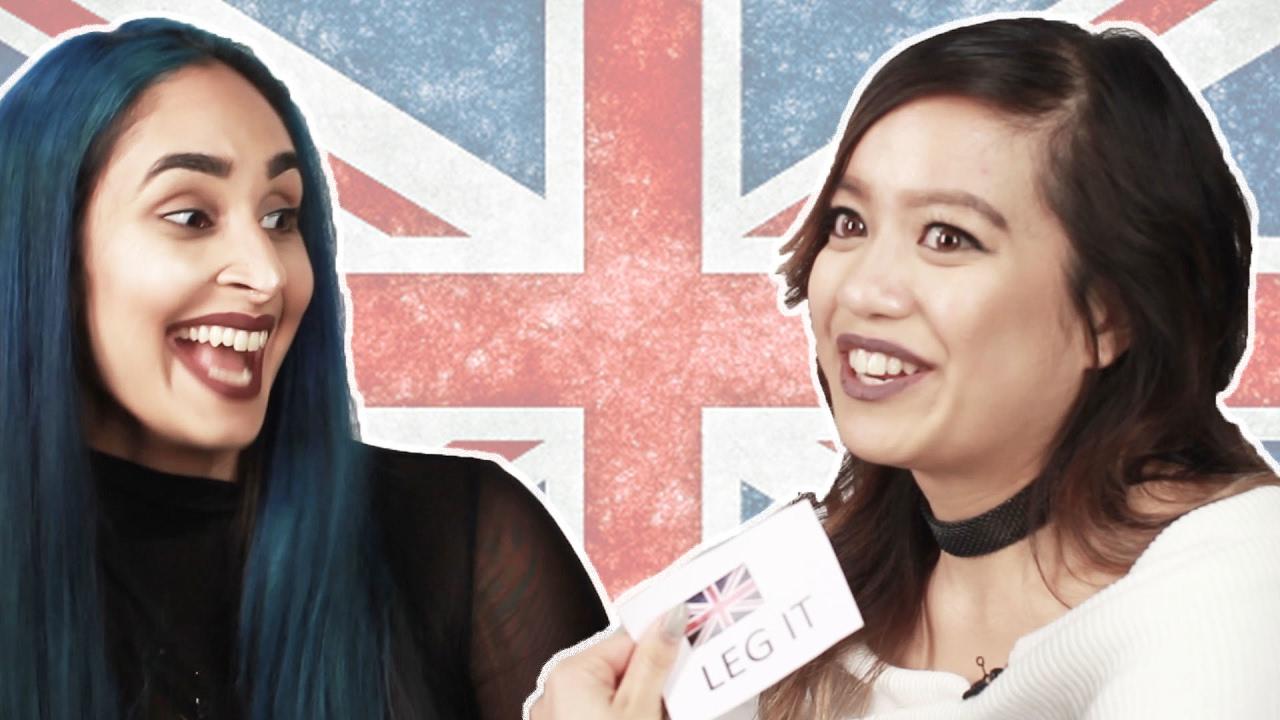 Americans Guess British Slang Youtube