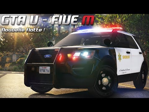GTA 5 - Law Enforcement Live - Nouvelle flotte ! (Five M)