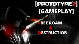 [PROTOTYPE2] PC - Free Roam and Destruction Gameplay (1080p)