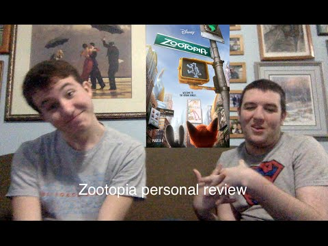 Zootopia personal movie review with Slendy and Freddy