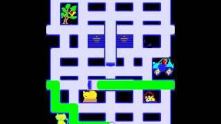 Game of the day 594 Crush Roller (クラッシュローラー) 1981 Alpha Denshi / Kural Electric, Ltd