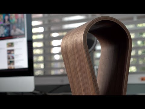 Beautiful Wooden Headphone Stand - Review!