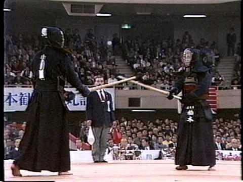 第34回(S61) 全日本剣道選手権大会 準々決勝③ 柏木 - 伊藤