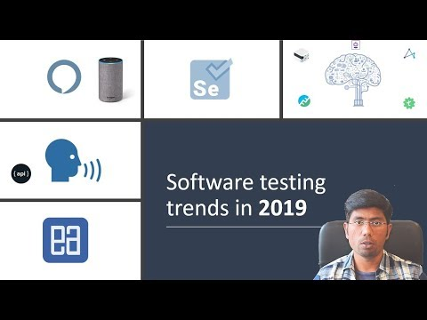 Software testing trend 2019 (AI, Voice interaction, AI based API for open source software)