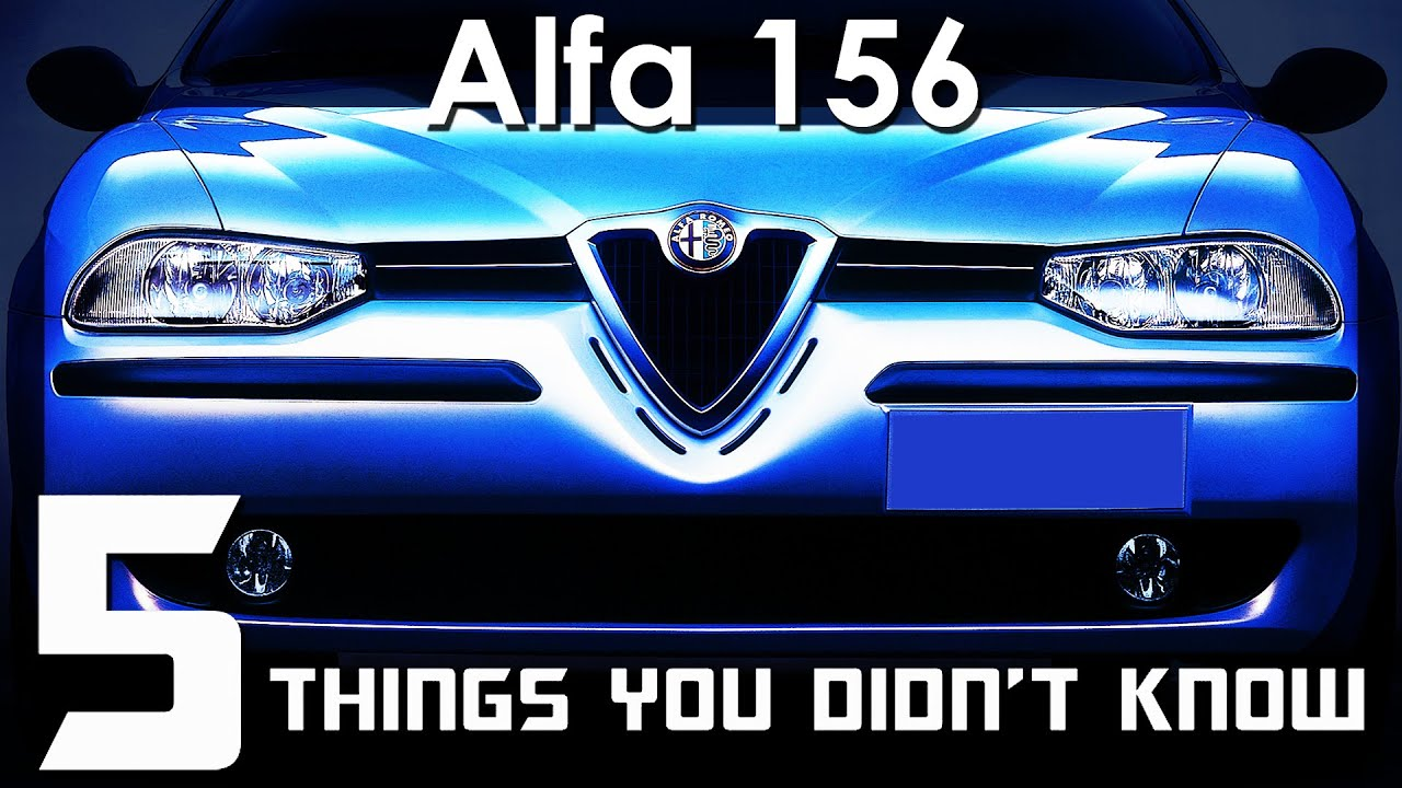 Download 5 Things You Didn't Know About The Alfa 156