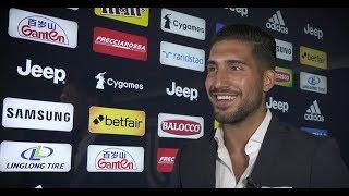 Emre Can's first Juventus interview