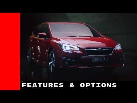 New 2017 Subaru Impreza Features And Options