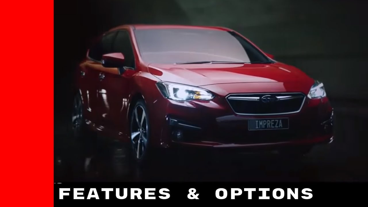 New 2017 Subaru Impreza Features And Options