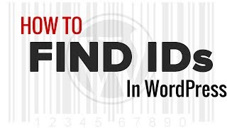 How to Find Post, Category, Tag, Comments, or User ID in WordPress