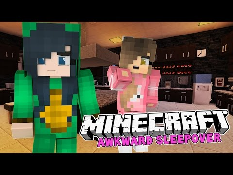 Minecraft - FUNNEH LEAVES MY SLUMBER PARTY! (Minecraft Roleplay)