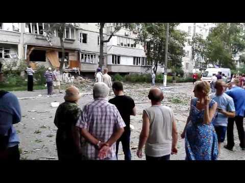 Взрыв жилого дома в Киеве 26.07.2017