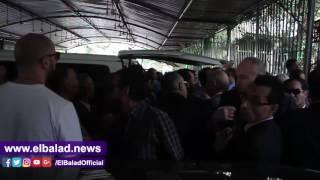 تشييع جنازة المدير الأسبق لمكتب «السادات» من مسجد مصطفى محمود.. فيديو وصور