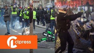 Gilets jaunes Acte 6 : manifestations et incidents  (22 décembre 2018, Paris)