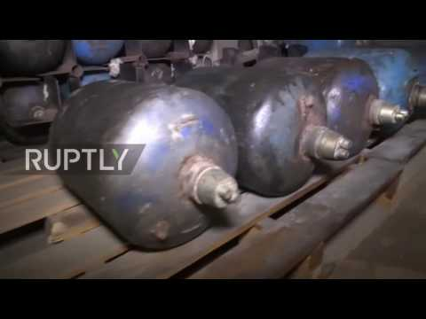 Syria: Russian sappers clear mines, bombs and booby-traps in Aleppo