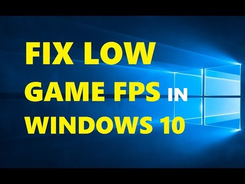 How to Fix FPS Drops in Games [ Windows 10 Tutorial ] Simple & Working 2019