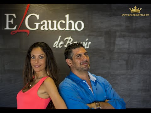 ARIANA EVENTS COMMUNICATIONS INTERVIEW AT EL GAUCHO DE BANUS