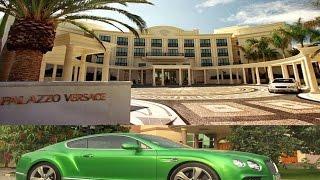 Palazzo Versace Hotel in Dubai & Bentley Speed فندق فيرزاتشي في دبي وبنتلي سبيد 2016