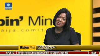 Rubbin Minds: For Now I Am Engaged & Married To My Work -- Toyin Abraham Pt. 1