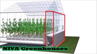 видео: Теплицы 5- го поколения Active Climate   Niva greenhouses RUS