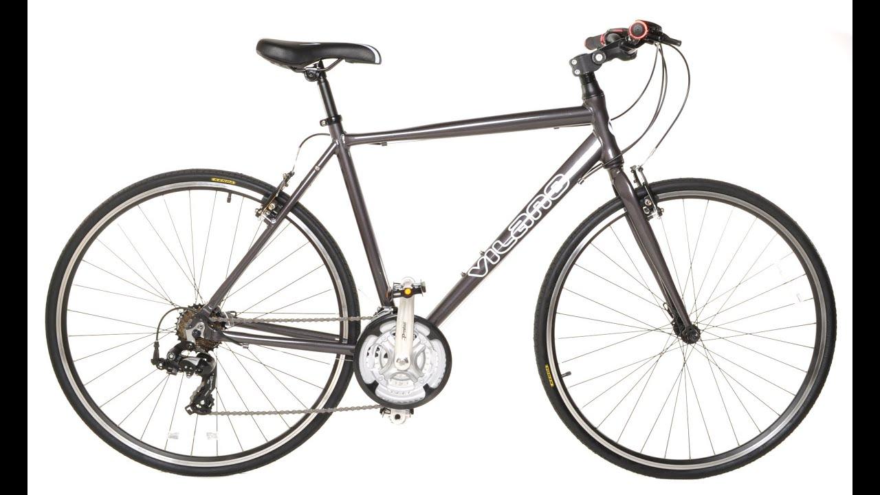 Vilano Performance Hybrid Flat Bar Commuter Road Bike