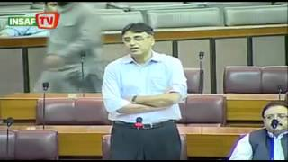 Asad Umar PTI First Speech in National Assembly