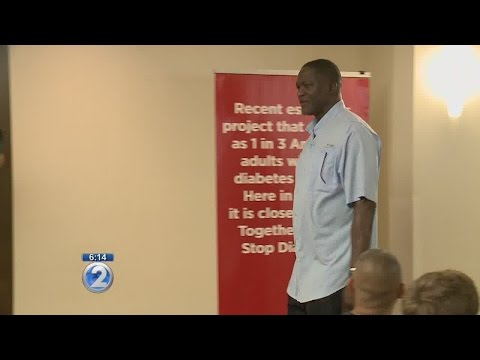 NBA Hall of Famer shares his experience with diabetes - YouTube