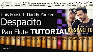 Luis Fonsi - Despacito ft. Daddy Yankee (Pan Flute TUTORIAL)