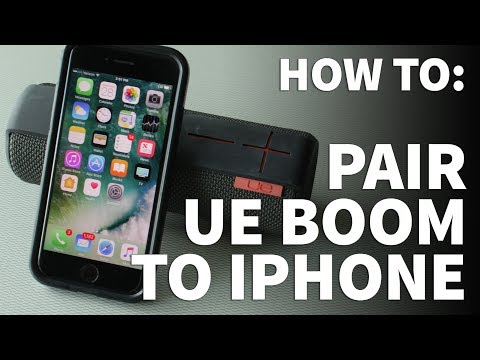 How to Pair UE Boom to iPhone – Connect Logitech Wireless Speaker to  Bluetooth Device or Computer