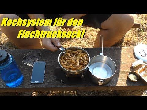 Kochsystem für den Fluchtrucksack (BOB Gear)