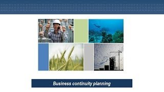 Business continuity planning - Risk Management Series