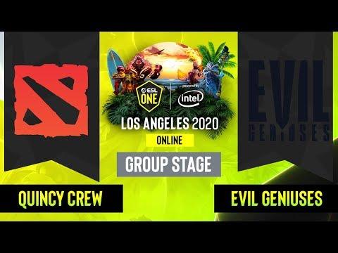 EG vs Quincy Crew vod