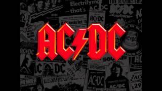 AC DC bonny fling thing backing track
