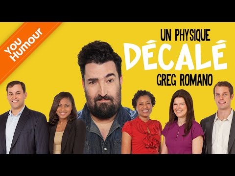 Greg Romano - Un physique décalé