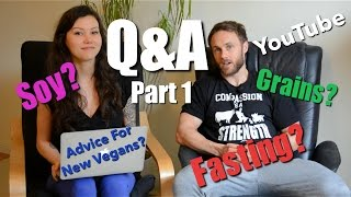 Q&A - Soy, Girlfriends, Fluoride, Calisthenics, Vegan Things | Simnett Nutrition