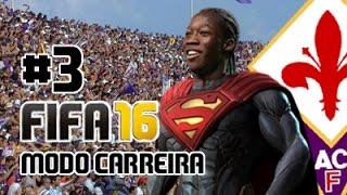 SALVA-NOS, MANÉ!!!! // Modo Carreira (Treinador) #3 ACF Fiorentina // FIFA 16 [PS4]
