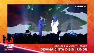 Download Video SFMM32 | Tajul & Wany Hasrita | Disana Cinta Disini Rindu MP3 3GP MP4