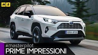 Toyota Rav4 2019 | Solo Hybrid, Anche 4x4 Awd-I