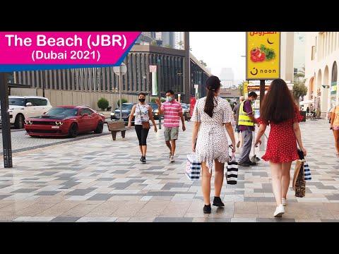 The Beach - Dubai Walking Tour - Dubai Marina - Dubai Touris