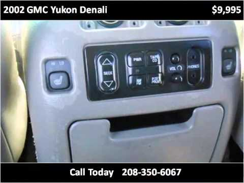 2002 GMC Yukon Denali Used Cars Garden City ID