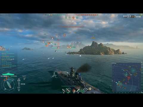 World of Warships - Bastion Game Mode!!!! - Yamato Gameplay