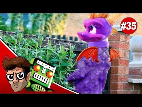 Spyro is Back! A Man of Spiders Swings Hard! Shadow of War Deboxes Itself - Pregame Discharge 35