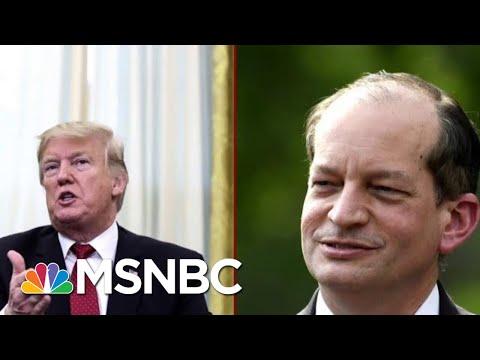 Labor Secretary Holds Conference At Trump's Urging Defend Handling Plea deal   Deadline   MSNBC