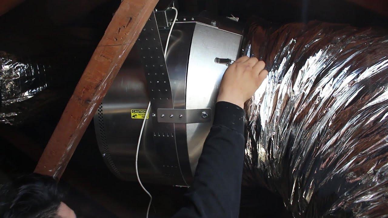medium resolution of whole house fan install teaser