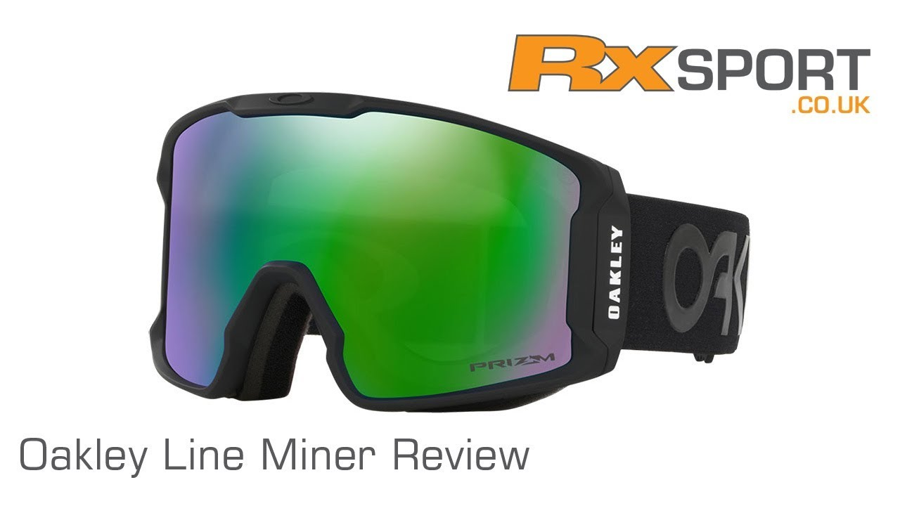 23d65880c Oakley Line Miner Ski Goggle Review | RxSport.co.uk - YouTube