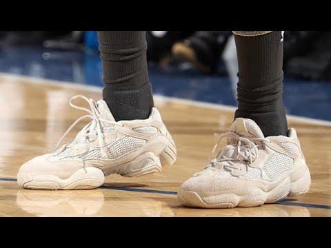29b8e2f77 NICK YOUNG WEARS YEEZY 500 SNEAKERS ON COURT!! - YouTube